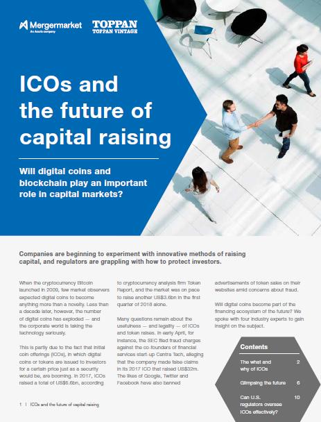 ICOs cover